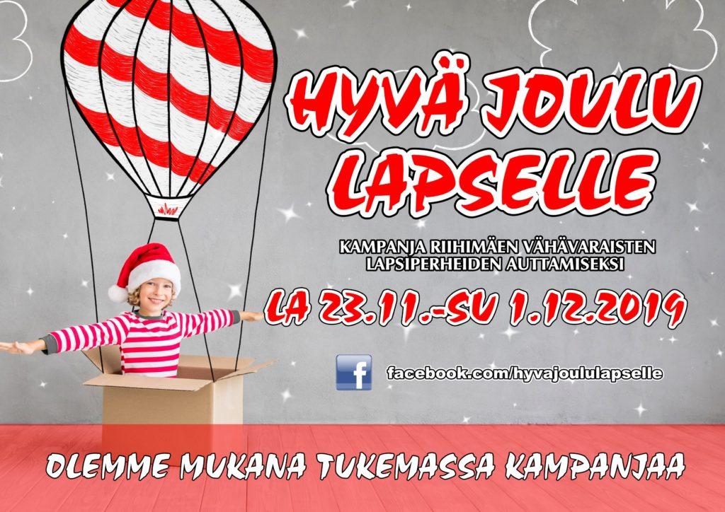 Hyvä joulu lapselle -kampanja